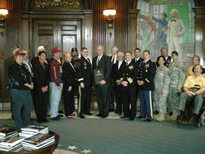 Missouri Governor Proclimation for Exercise Tiger 2012