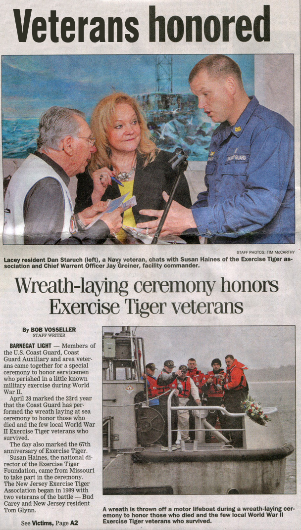 Exercise Tiger News Article